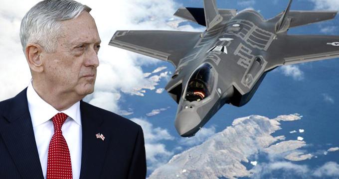 Mattis'e Türkiye'yi kızdıracak mektup: F-35'leri vermeyin