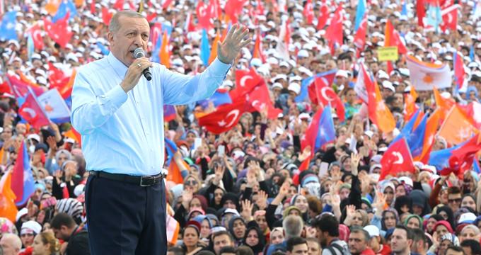 Erdoğan bizzat açıkladı! İşte Yenikapı mitingine katılan kişi sayısı