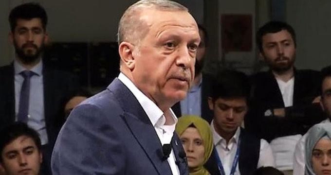 """Erdoğan """"İlginç bir canlı yayına katılacağım"""" dediği programda konuştu"""