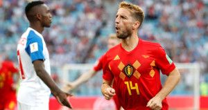 İlk yarı zorlanan Belçika, ikinci yarıda farka koştu