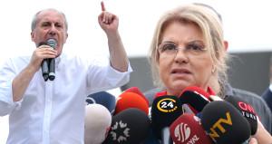 İnce, AK Parti mitingine katılan Tansu Çillere sert çıktı