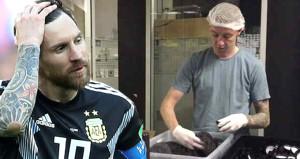 Messiye adım attırmayan İzlandalı, fabrikadan izin alıp gelmiş