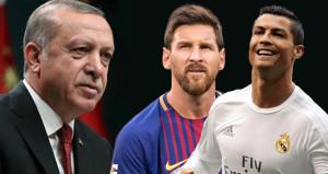 'Ronaldo mu Messi mi?' sorusuna Erdoğandan manidar yanıt