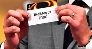 Beşiktaşın UEFA Avrupa Ligindeki muhtemel rakipleri belli oldu