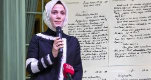 Erdoğan'ın kızı, babasının cezaevinden yazdığı mektubu ilk kez okudu