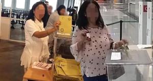 İki kez oy kullanıp sosyal medyadan paylaşan kadın, gözaltına alındı