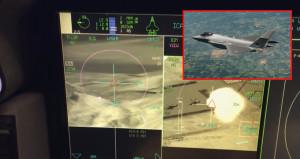 F-35in son teknoloji ile donatılan kokpiti ilk kez görüntülendi
