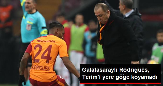 Galatasaraylı Rodrigues, Terim i yere göğe koyamadı