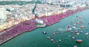 Muharrem İnceden İzmirde CHP tarihinin en kalabalık mitingi