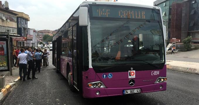 Otobüs sapığı, tacize tepki gösteren yolcunun boğazını kesmeye çalıştı