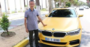 Türkiyeye sadece 20 tane geldi! 500 bin TLye alıp taksi yaptı