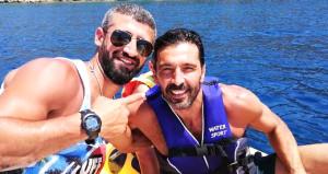 Efsane kaleci Buffon, tatil için Bodrumda