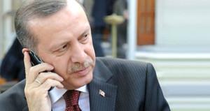 Erdoğandan yüzde 95 oy aldığı ilçeye teşekkür telefonu