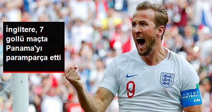 İngiltere, 7 gollü maçta Panama yı paramparça etti