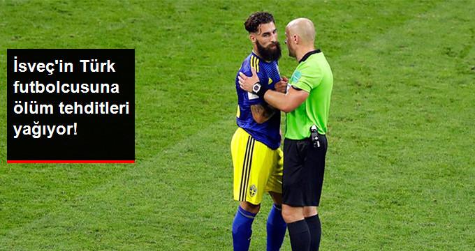İsveç in Türk futbolcusuna ölüm tehditleri yağıyor!