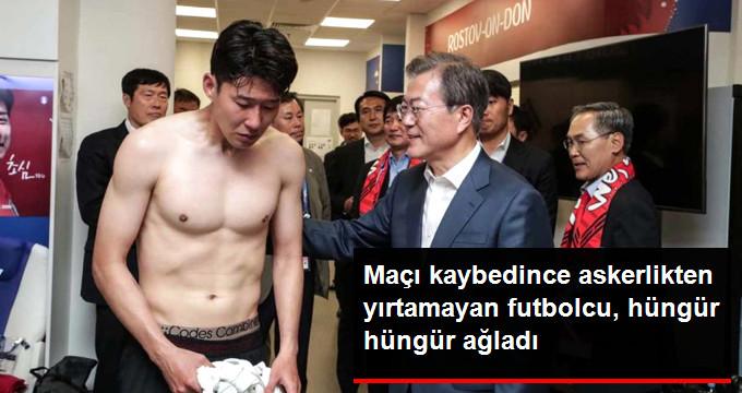 Maçı kaybedince askerlikten yırtamayan futbolcu, hüngür hüngür ağladı