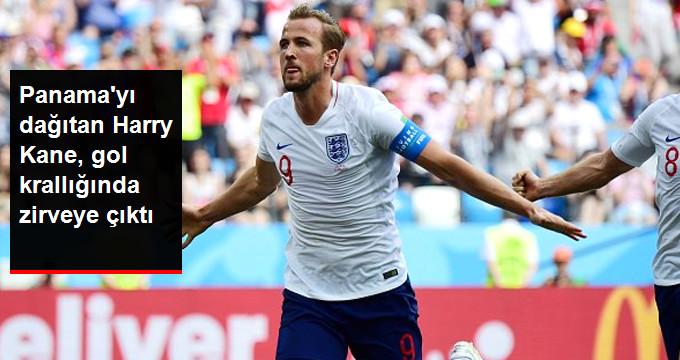 Panama yı dağıtan Harry Kane, gol krallığında zirveye çıktı