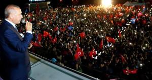 Erdoğan balkon konuşması yaptı: Mesajı aldık, eksikleri tamamlayacağız