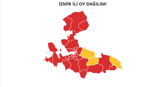 İzmir'de sandıkların tamamı açıldı! İşte sonuçlar