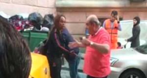 Tartıştığı turisti arabadan atan taksici hakkında karar verildi