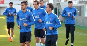 Trabzonspor top başı yapıyor