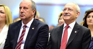 Muharrem İnce ve Kemal Kılıçdaroğlu görüşmesi sona erdi