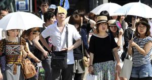 Aşırı sıcaklar Japonyayı vurdu: 5 kişi öldü, binlercesi hastanelik!