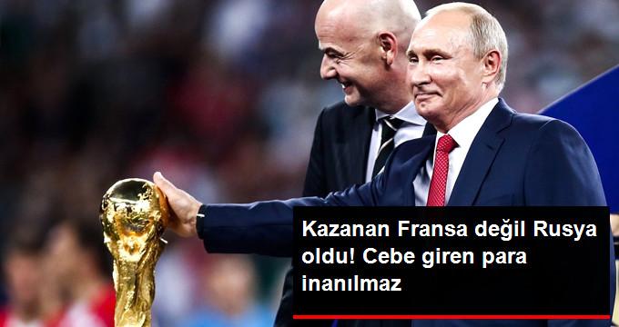 Rusya, Dünya Kupası Süresince 18 Milyar Dolar Kazandı
