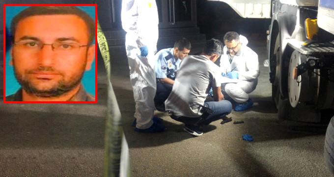 Alkollü yakalanan TIR şoförü, kafasına sıktı!