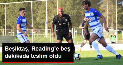 Beşiktaş, Üçüncü Hazırlık Maçında İngiliz Ekibi Reading İle 2-2 Berabere Kaldı