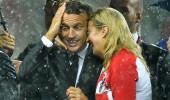 Dünya Kupası finaline Macron ve Kitarovic'in görüntüsü damga vurdu