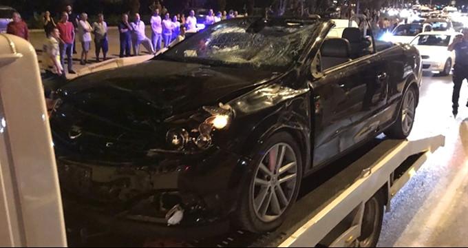 Feci kaza! Kontrolden çıkan otomobil baba ile kızını hayattan kopardı
