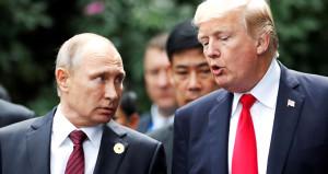 Putin, Trumpın uygunsuz görüntülerine sahip olduğu iddiasını yanıtladı