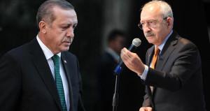 Erdoğan, skandal pankartı paylaşan Kılıçdaroğlu ve 72 vekile dava açtı