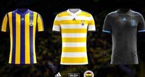 Fenerbahçe, yeni sezonda giyeceği formaları tanıttı