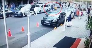 İSPARK görevlisi, motosikletli kapkaççılardan parayı böyle kurtardı