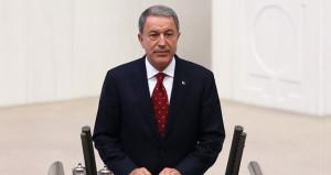 Milli Savunma Bakanı Akar'dan bedelli askerlik paylaşımı