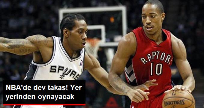 NBAde dev takas! Yer yerinden oynayacak