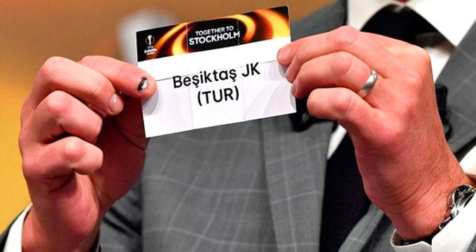 Beşiktaş'ın Avrupa Ligindeki rakibi belli oldu