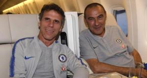 Efsane futbolcu, Chelseade Sarrinin yardımcısı oldu