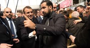 Macron'un danışmanı, polis kılığına girip göstericileri dövmüş!