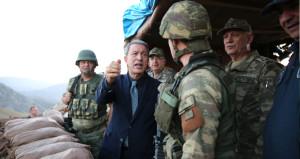 Sıfır noktasına giden Bakan Akardan tarihi PKK açıklaması