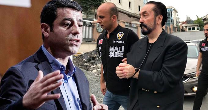 Adnan Oktar'ı Selahattin Demirtaş'ın yanına götürüyorlar