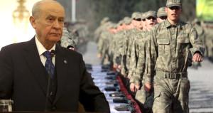MHP Lideri Devlet Bahçeli'den çok konuşulacak bedelli askerlik çıkışı!