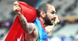 Milli atlet Ramil Guliyev, 200 metrede ikinci oldu