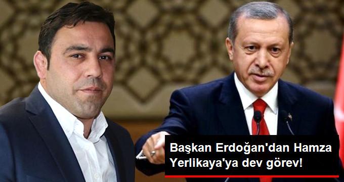 Başkan Erdoğan dan Hamza Yerlikaya ya dev görev!