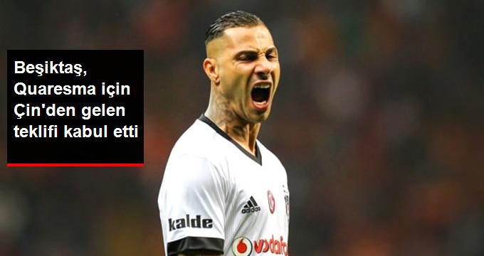Beşiktaş, Quaresma için Çin den gelen teklifi kabul etti