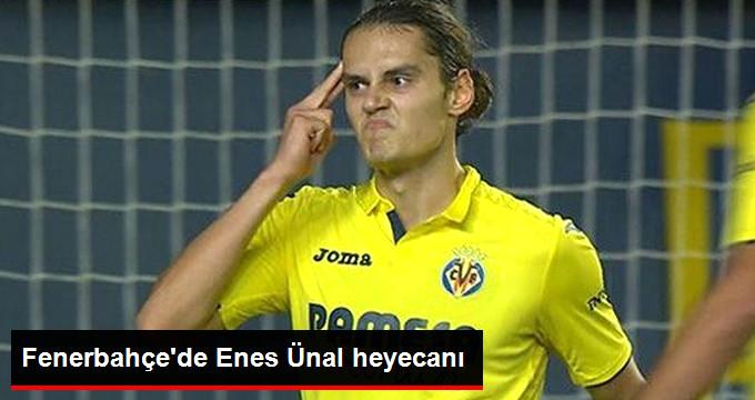Fenerbahçe de Enes Ünal heyecanı