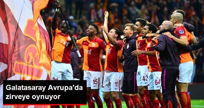 Galatasaray Avrupa da zirveye oynuyor