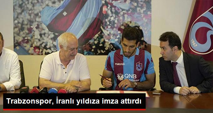 Trabzonspor, İranlı yıldıza imza attırdı